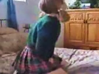 TNAFlix Sex Video - Two Cocks Jammed Into School Girl