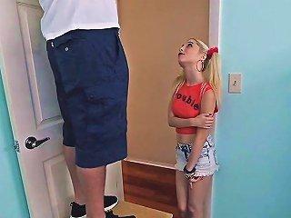 GotPorn Sex Video - Skinny Teen Schoolgirl Jumps On A Huge Hard Dick For Bj